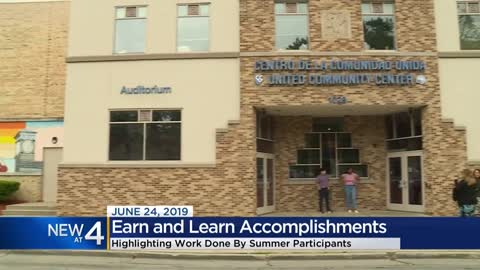 'Earn and Learn' program participants recognized for their...